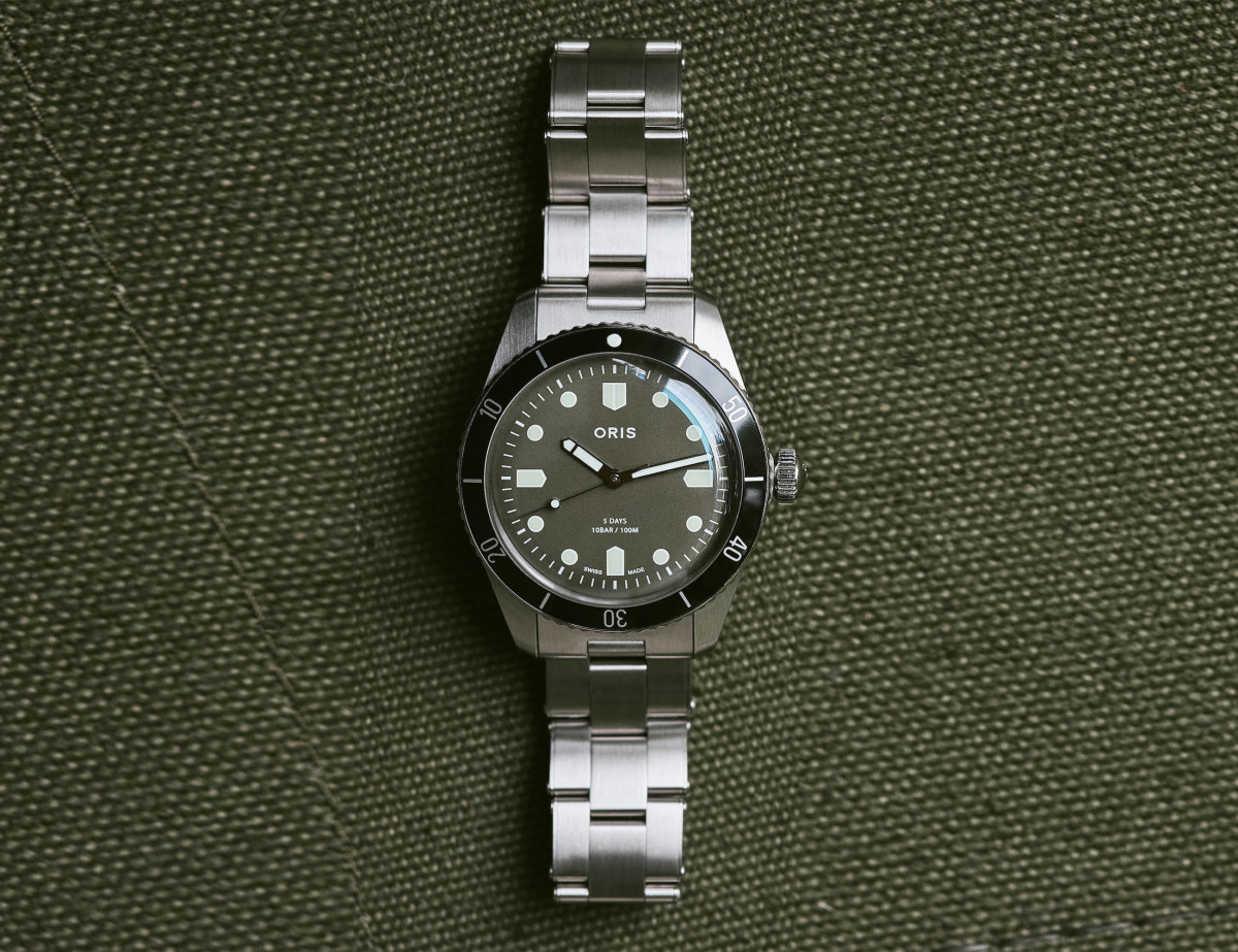 Oris Divers Sixty-Five Caliber 400 Limited Edition For Hodinkee